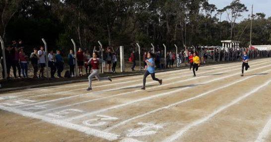 Atletismo en Rocha.