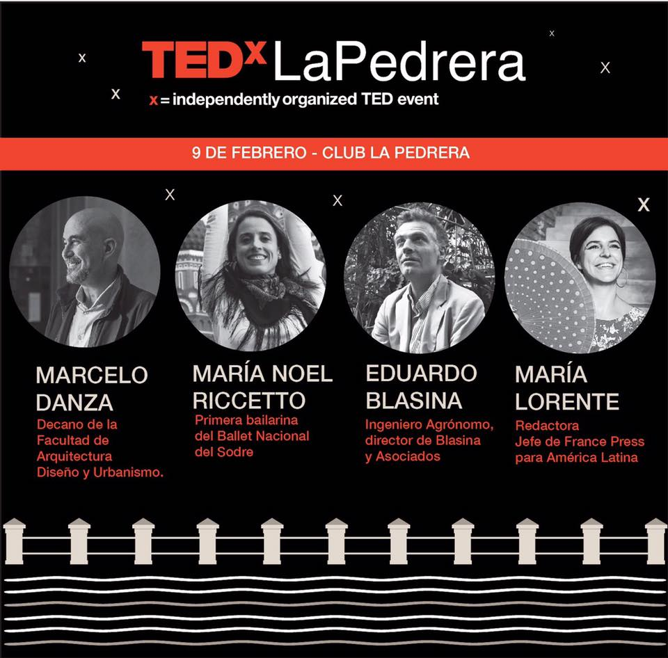 charlas tedx en La Pedrera.