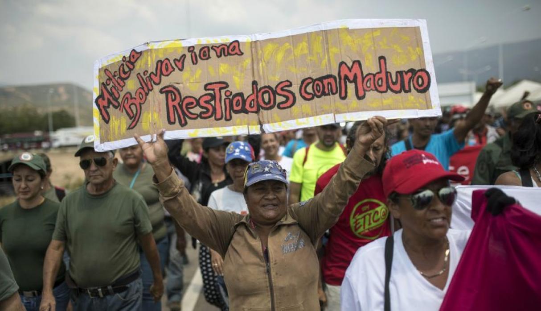 Hands off Venezuela.