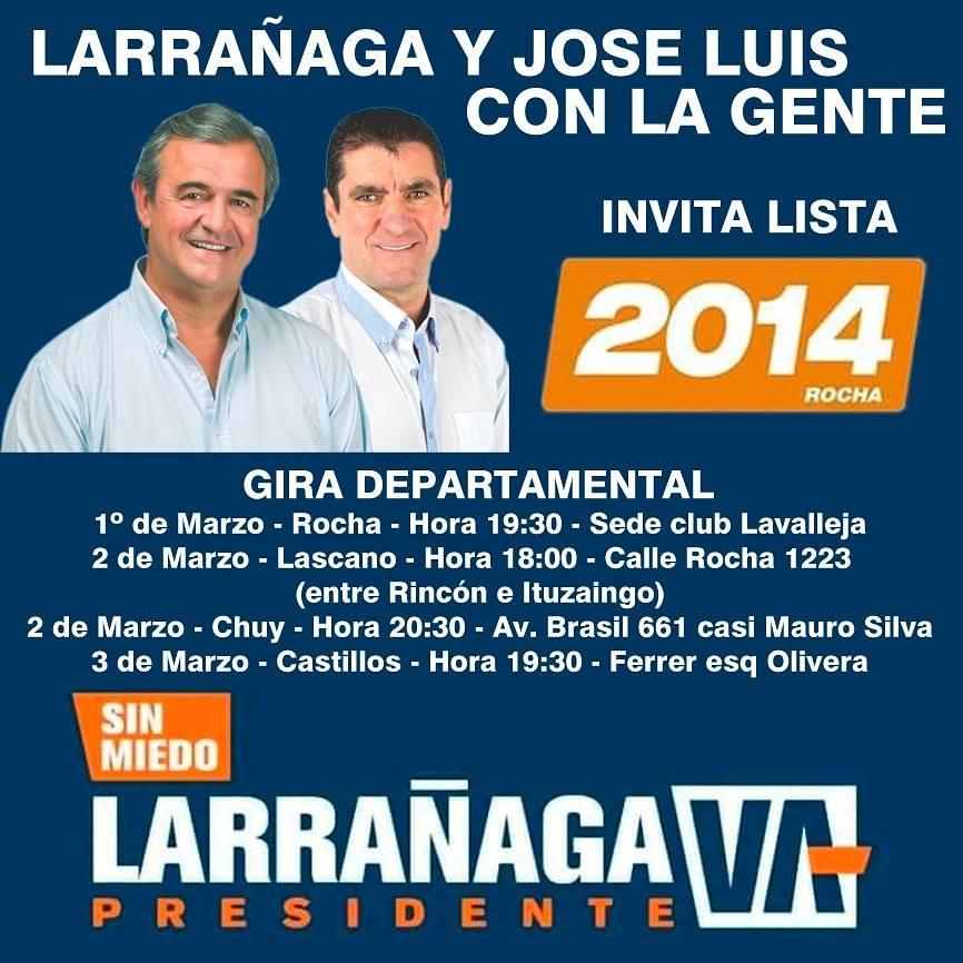 Jorge Larrañaga y José Luis Molina
