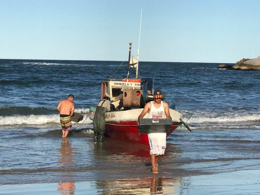pesca en Rocha