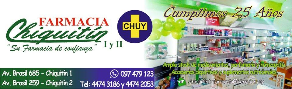 farmacia de turno en Chuy