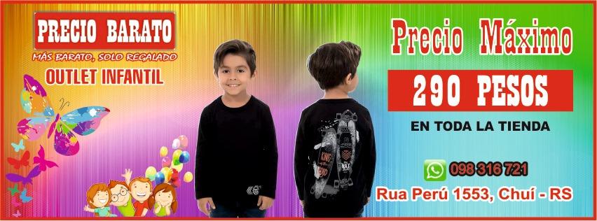 ropa infantil en chuí