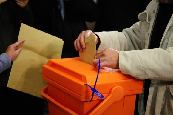 votación en Rocha
