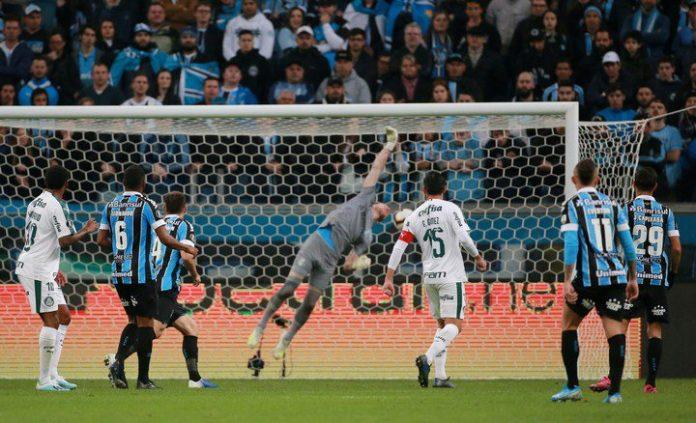Gremio 0 Palmeiras 1