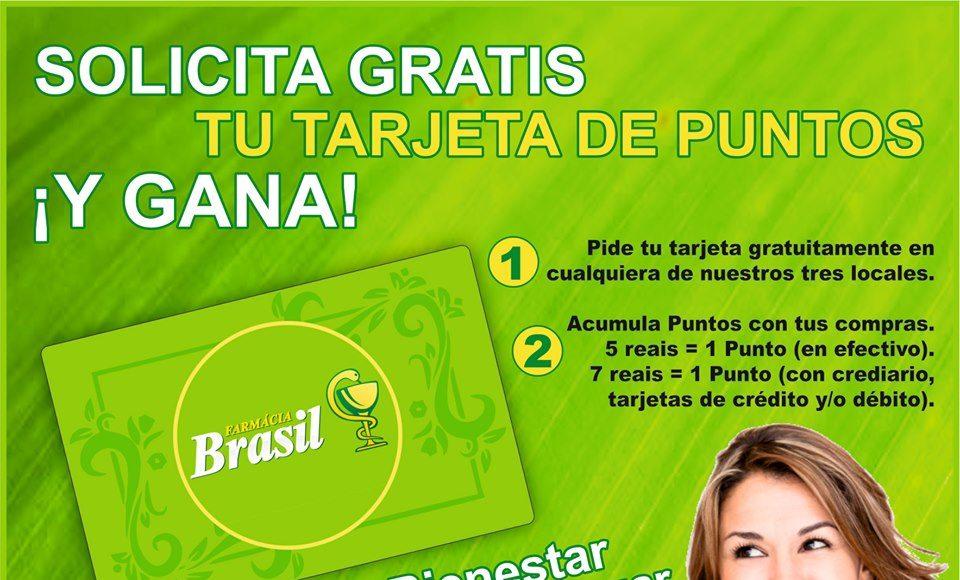 gana con farmacia brasil