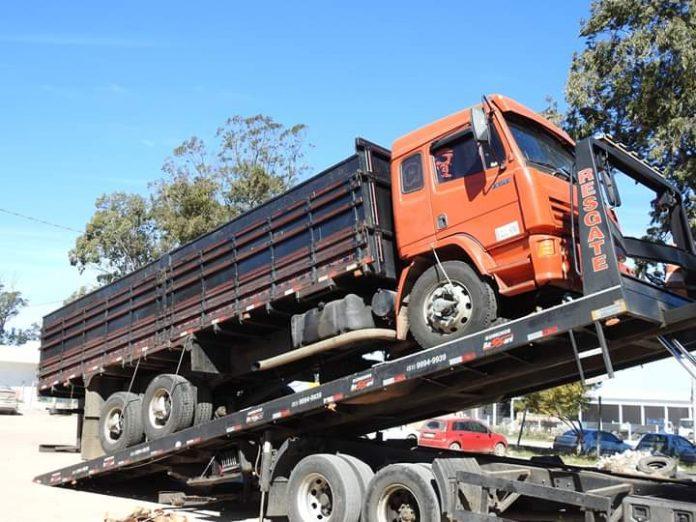 camión para municipio de chuí