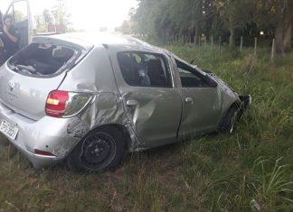 accidente en Lascano.