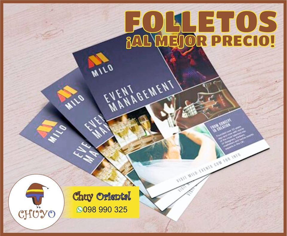 folletos baratos