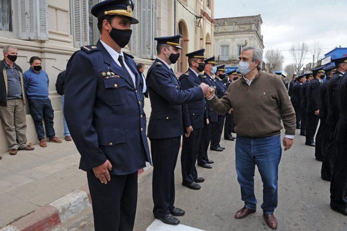 jefe policial de Rocha