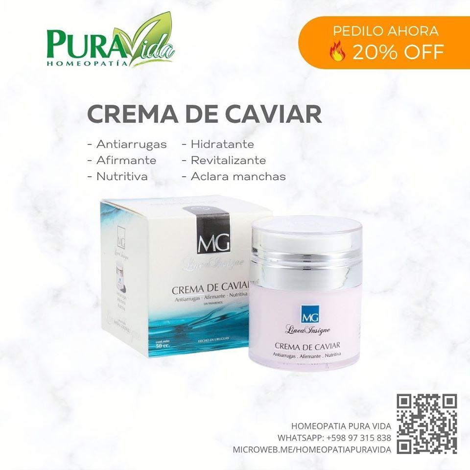crema de caviar