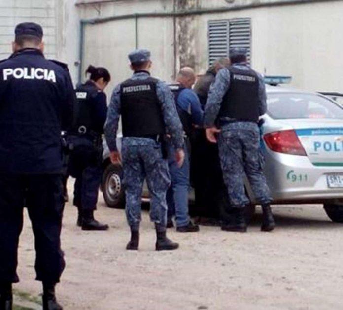 policía en Rocha